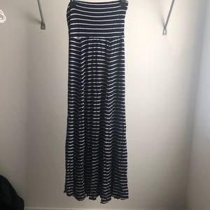 Aritzia dress summer flowy beach skirt striped